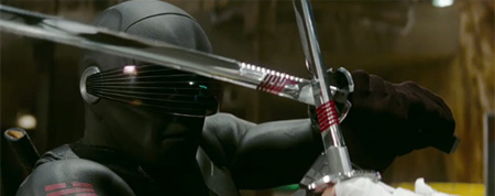Snake Eyes in GI: Joe The Rise of Cobra