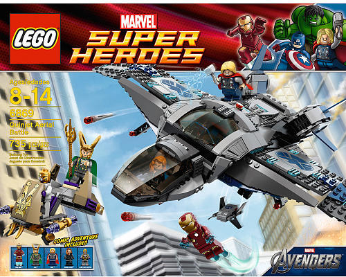 A Closer Look At The Avengers Villians Courtesy of LEGO ...