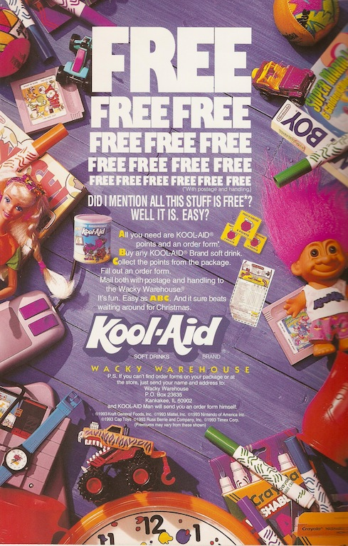 Kool Aid Wacky Warehouse