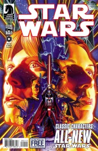 Star Wars #1 - Cover by Alex Ross