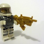 CMF Space Man w/Armor & Rifle