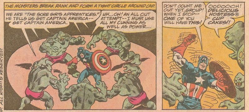 Captain America vs. The Sore Sir's Apprentice #2