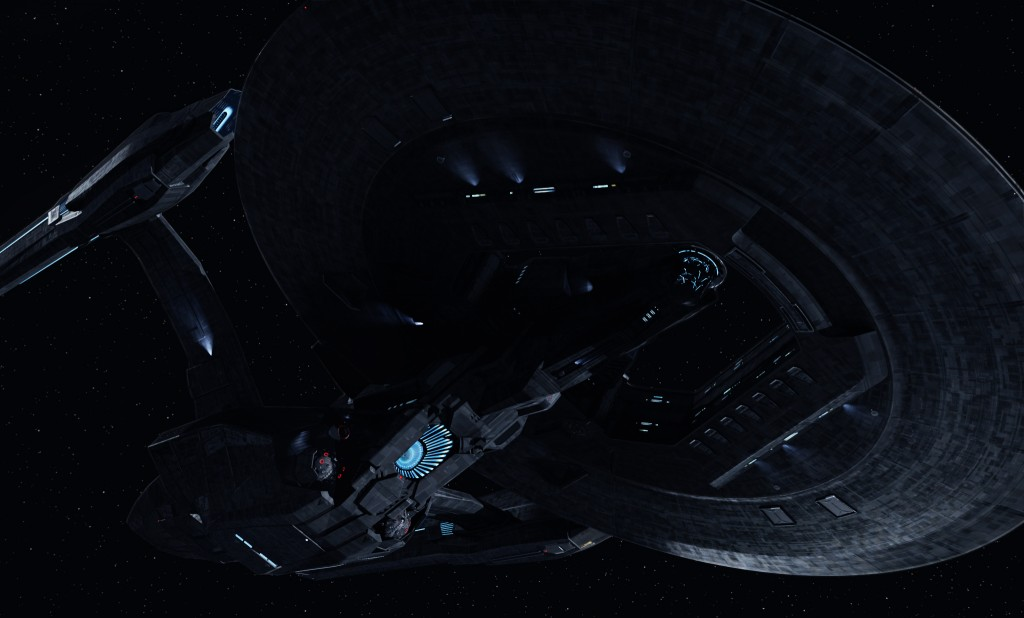 USS Vengeance from Star Trek Into Darkness [via TrekMovie.com]