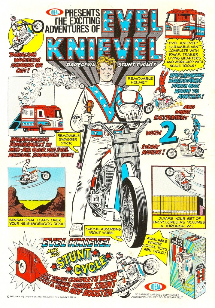 Evil Knivel by Ideal Toys circa 1973