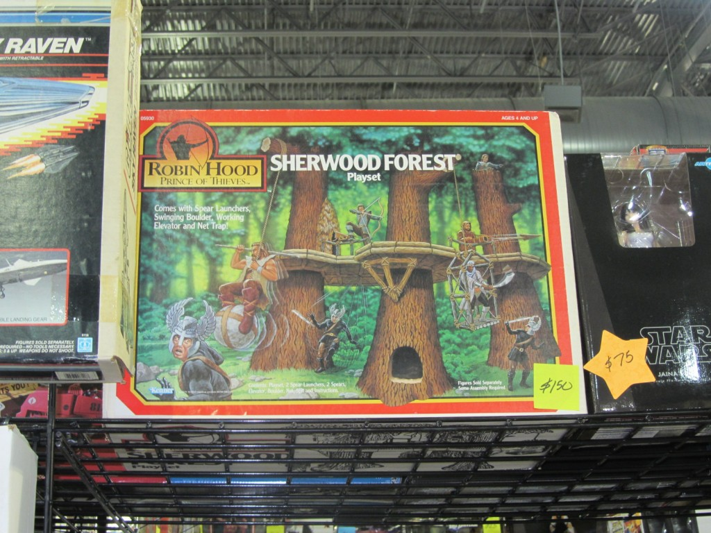 Kenner's Sherwood Forrest Playset