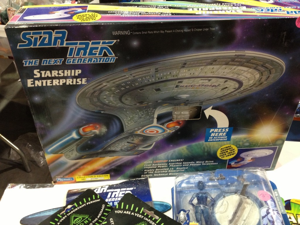 MIB Playmates' Starship Enterprise-D