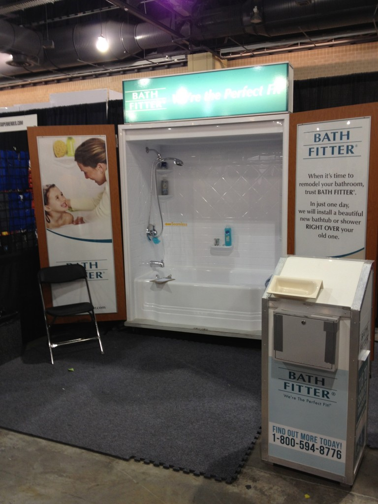 Bath Fitter, The Saddest Booth @ Wizard World Philadelphia