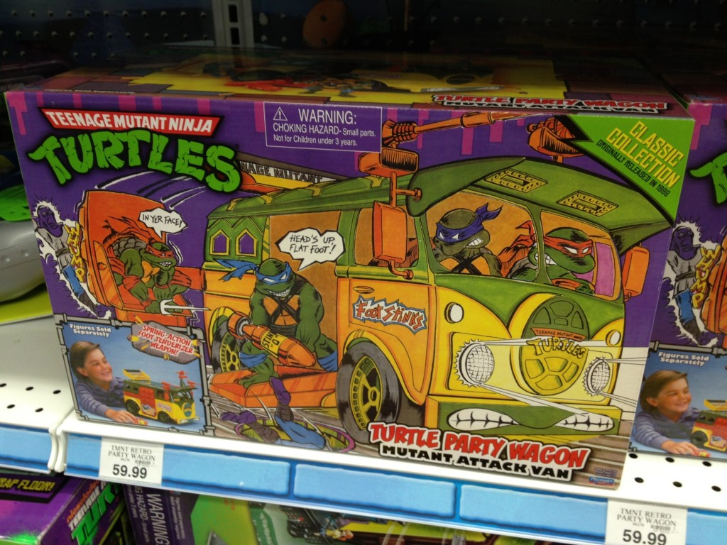 """14191cb68e879 Sightings — TMNT """"Classic Collection"""" Party Wagon – doubledumbassonyou"""