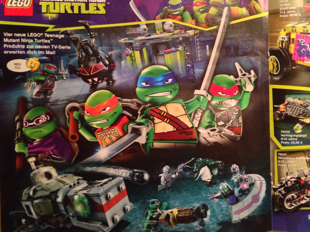Lego Ninja Toys : Here s your first look at the lego teenage mutant