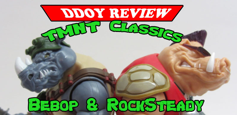 TMNT Classics Review Bebop & Rocksteady