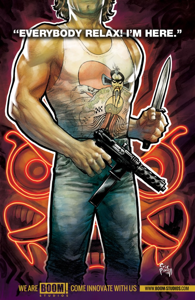 Big Trouble In Little China coming from BOOM! Studios
