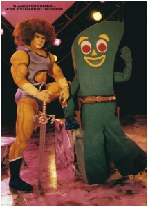 Lion-O & Gumby, The Ultimate Team Up!