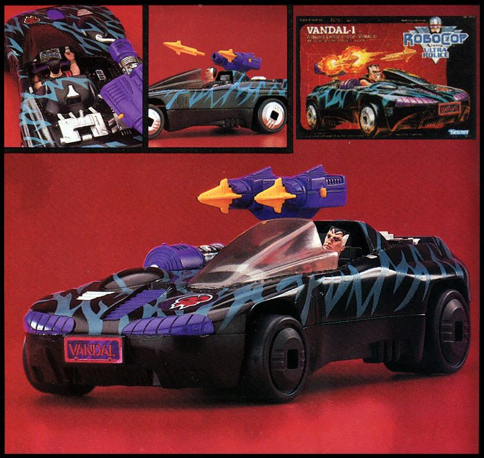 Vandal-1 was a very 90's bad guy ride that found its way into Kenner's Terminator 2 line.
